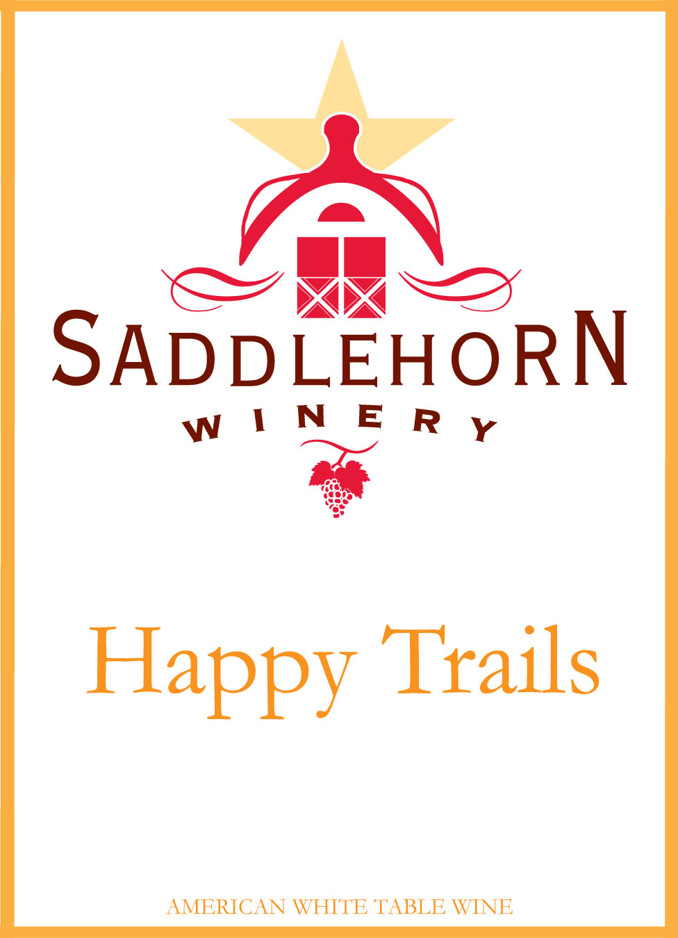 Happy Trails Label